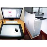 Combo Torre Mac Pro (mid 2010) + Monitor V.s. + Tabla Wacom