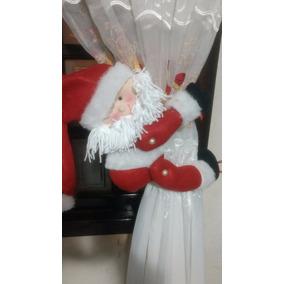 Promocao Prendedor De Cortina Natal Papai Noel Natalino