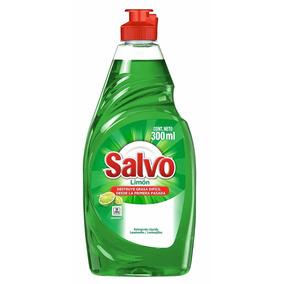 Salvo Lavatrastes Líquido Limón, 300 Ml