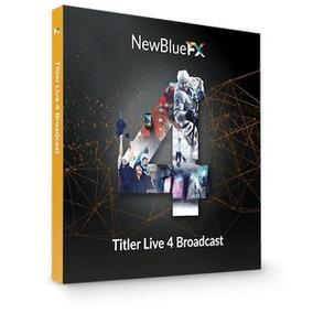 Newblue Titler Live 4 Broadcast Promoção Ate Dia 10