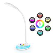 Lampara Led - Velador Dimer 3 Tonos - Base 256 Colores - Usb