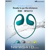 Sony Walkman Nwz-ws413 Color Azul 4gb