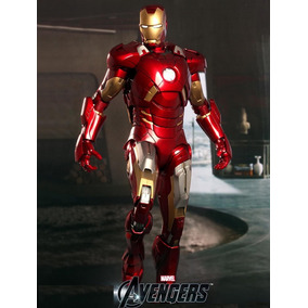 Iron Man Mark 7 Cosplay Tamaño Real (para Armar En Fomi)
