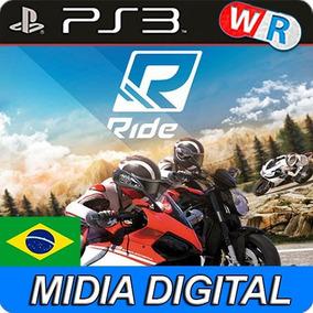 Ps3 Ride Psn Dublado Portugues Brasil Promocao!!