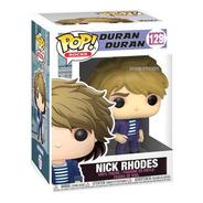 Funko Pop Duran Duran Nick Rhodes 129 Original Scarlet Kids