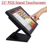 15 Táctil Pantalla Monitor Tft Lcd Pos Venta Kiosco