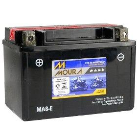 Bateria Moura Shadow 600 Xt600 Xt 600 8ah Ma8-e 0108