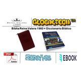 Biblia Reina Valera 1960 + Diccionario Biblico Mundo Hispano