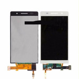 Lcd Display+touch Digitalizador Blanco Para Huawei Ascend P6