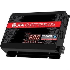 Fonte Automotiva Jfa 60a Sci 3000w Bi-volt Automático