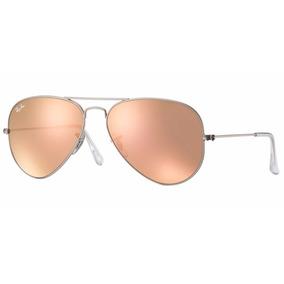 Oculos Rayban Original Aviador Rb3025 Rose 019/z2