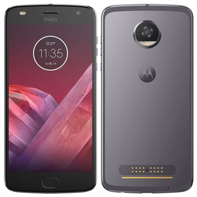 Smartphone Motorola Moto Z2 Play, Dual Chip, Platinum 64gb