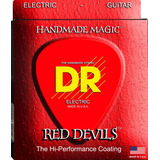 Cuerdas Dr Strings Red Devils Para Guitarra