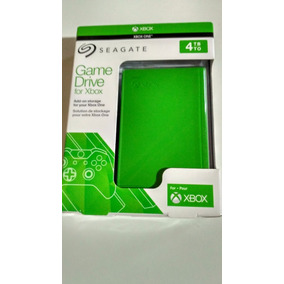 Hd Externo Seagate Xbox Edition Game Drive 4tb P/ Xbox One
