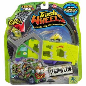 Trash Wheels Caminhão Cegonha Lixo Trash Pack Série 2 Moose