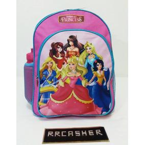 Morral Bolso Escolar Princesas, Pepa Barbie Frozen Soy Luna