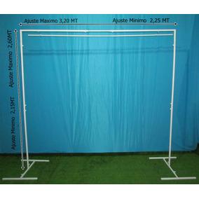 Suporte Para Banner Balão Bexiga / Ferro,c/2 Pes 2.60x3.20