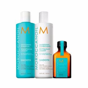 Morocanoil Shampoo + Condicionador + Óleo Argan 25ml + Frete