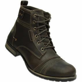 Bota Boots Company Scott Fossil Couro Marrom