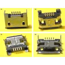 Conector Micro Usb V8 Centro Carga Htc Nokia Sony Tablet -16