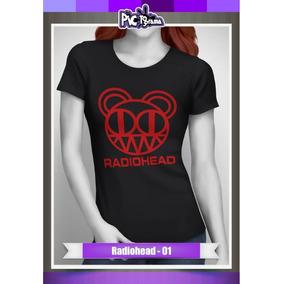 Camiseta Radiohead - Rock Music Mujer