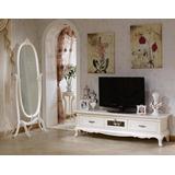 Mueble Tv Estilo Frances Provenzal Laqueado