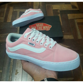 Tenis.skate Vans Old Skool - Tênis Rosa no Mercado Livre Brasil a8a2ab7b3ed07