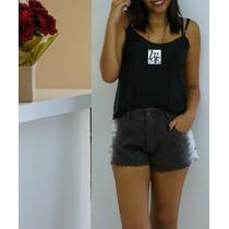 Shorts Jeans Tiedye Com Tachas Nas Laterais - Huck.