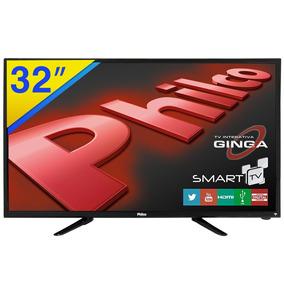 Smart Tv Led 32 Philco Hd Wifi E Conversor - Ph32b51dsgw