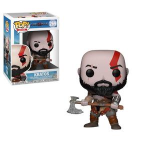 Funko Pop Games God Of War Kratos With Axe