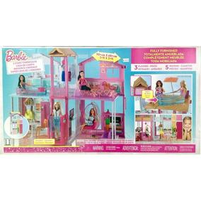 Casa Da Barbie 3 Andares Mattel Dly32 Sem Juros