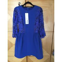 Vestido Patricia Bonaldi Novo Azul Bic