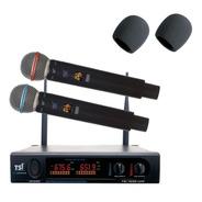 Microfone Tsi 1200 Uhf 96 Canais Substitui O Ud2200