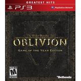 The Elder Scrolls Iv Oblivion - Edición Del Juego Del Año -