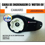 Camaro Eletrico 2614 Bandeirante - Só  A Caixa De Tração 6v
