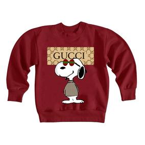 Blusa Moletom Gola Careca Dog Gucci Lançamentoo 965 6b36389600f