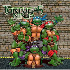 Morralitos Dulceros Personalizados Tortuga Ninja 50 Piezas