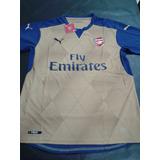 Camiseta Dorada Arsenal De Inglaterra !!