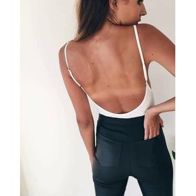 Body Mujer Dama Importado Brasil Espalda Cavada