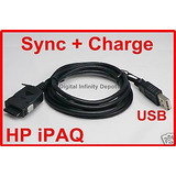 Usb Hotsync Carga Cable Hp Ipaq Rx3410 Rx3710 Hw6900