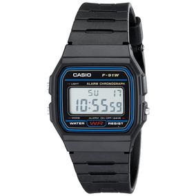 Casio F91w Reloj Resistente Al Agua Deportivo Digital