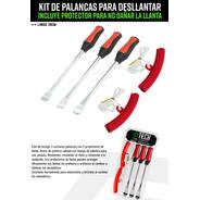 Kit 3 Palancas Para Desllantar Cubierta Motos Moto Delta
