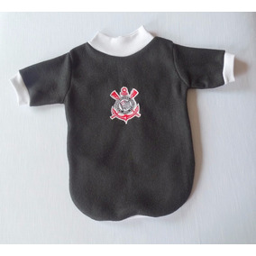 Blusinha Time Cachorrinho Soft - Corinthians Pet Pp