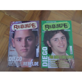 Revista Mania Rebelde Oficial Diego Christopher Uckermann