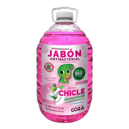 Jabón Líquido Antibacterial Para Manos Olor A Chicle 5 Lts