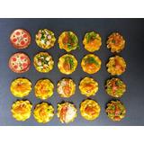 20 Pieza Set Mano Hecho Placa Decorativa Con Comida Imanes