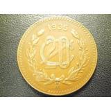 Moneda 20 Centavos Fecha 1935 Cobre Envió Gratis