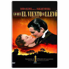 Lo Que El Viento Se Llevo Gone With The Wind Pelicula Dvd