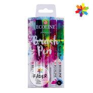 Pen Brush Brushpen Ecoline Marcadores Pincel Primarios