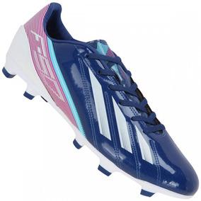 Chuteira Adidas F10 Trx Fg Messi - Chuteiras Azul no Mercado Livre ... 7fe424fdd31f3